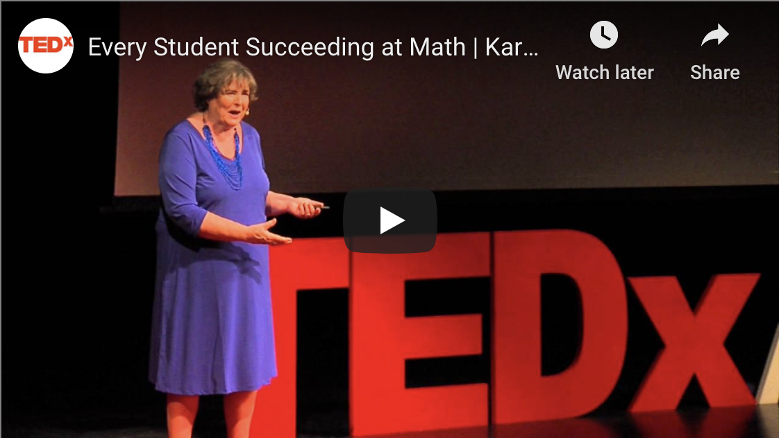 Every Student Succeeding at Math | Karin Wiburg | TEDxABQED